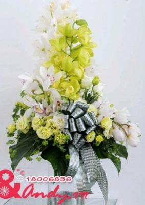 Bình hoa địa lan