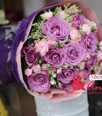 Bó hoa Sắc màu tặng bạn