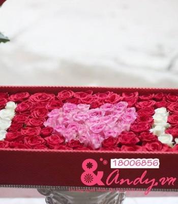 Hộp hoa : Bí mật trái tim