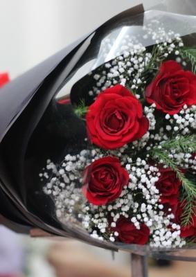Giỏ hoa hồng đẹp