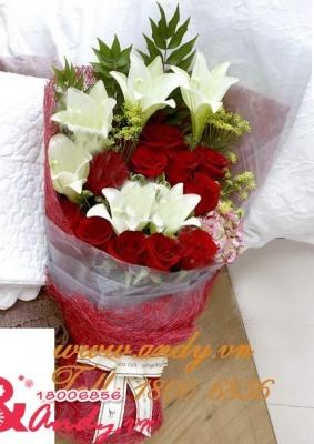 Bó hoa Cảm Xúc