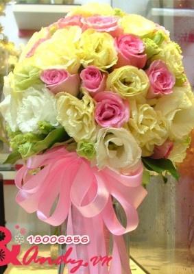 Bó hoa cưới : Lãng mạn