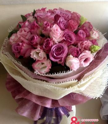 Bó hoa lan tường
