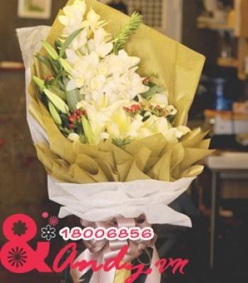 Bó hoa ngày tri ân