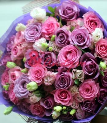 Bó hoa hồng - Ấm áp yêu thương