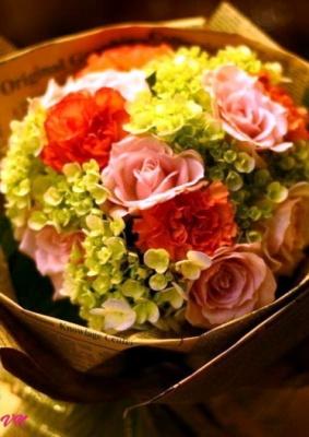 Bó hoa đẹp  – Nắng nhẹ