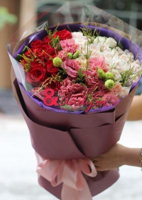 Bó hoa đẹp – lãng mạn