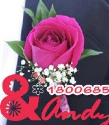 Hoa cưới cài áo: 123483
