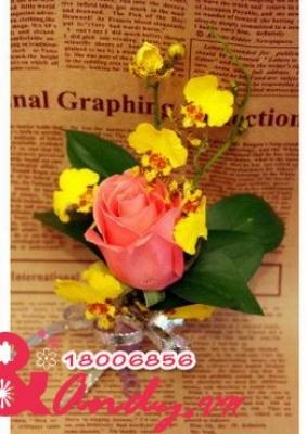 Hoa cưới cài áo: 123474