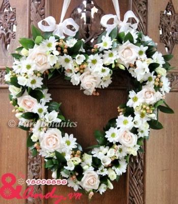 Hoa cưới trái tim: 93506