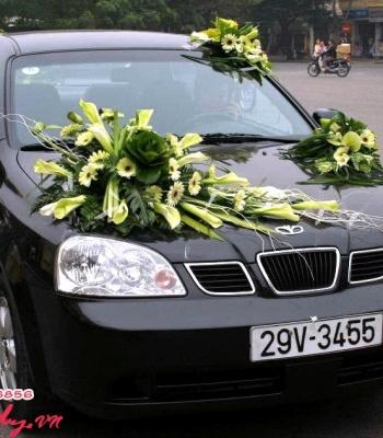 Hoa cưới trang trí xe: 93544