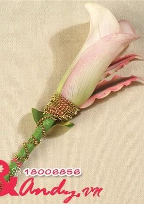 Hoa cưới cài áo: 16780