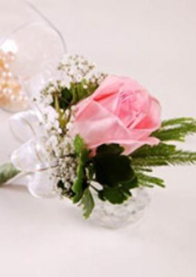 Hoa cưới cài áo: HB003