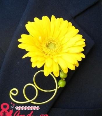 Hoa cưới cài áo: 16774