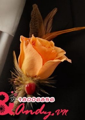 Hoa cưới cài áo: 16784