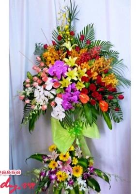 Hoa mừng khai trương