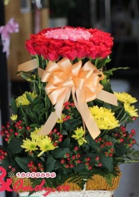 Hoa sinh nhật người yêu