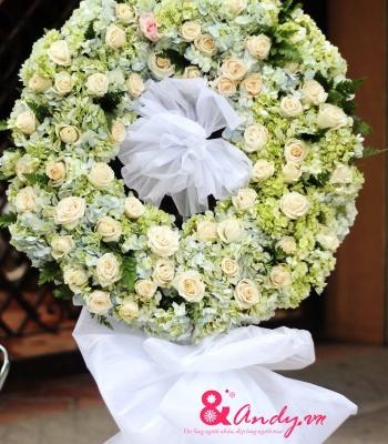 Hoa tang kính viếng