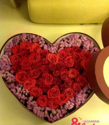 Hộp hoa trái tim