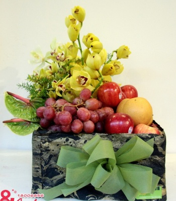 Hộp hoa và quả - Độc đáo