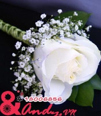 Hoa cưới cài áo: 1123479