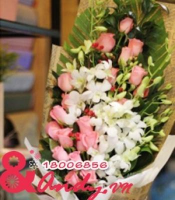 Hoa tặng mẹ
