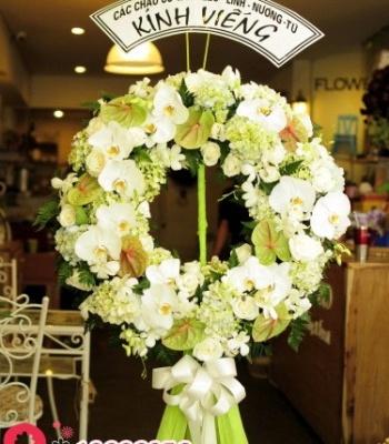 Vòng hoa tang đẹp
